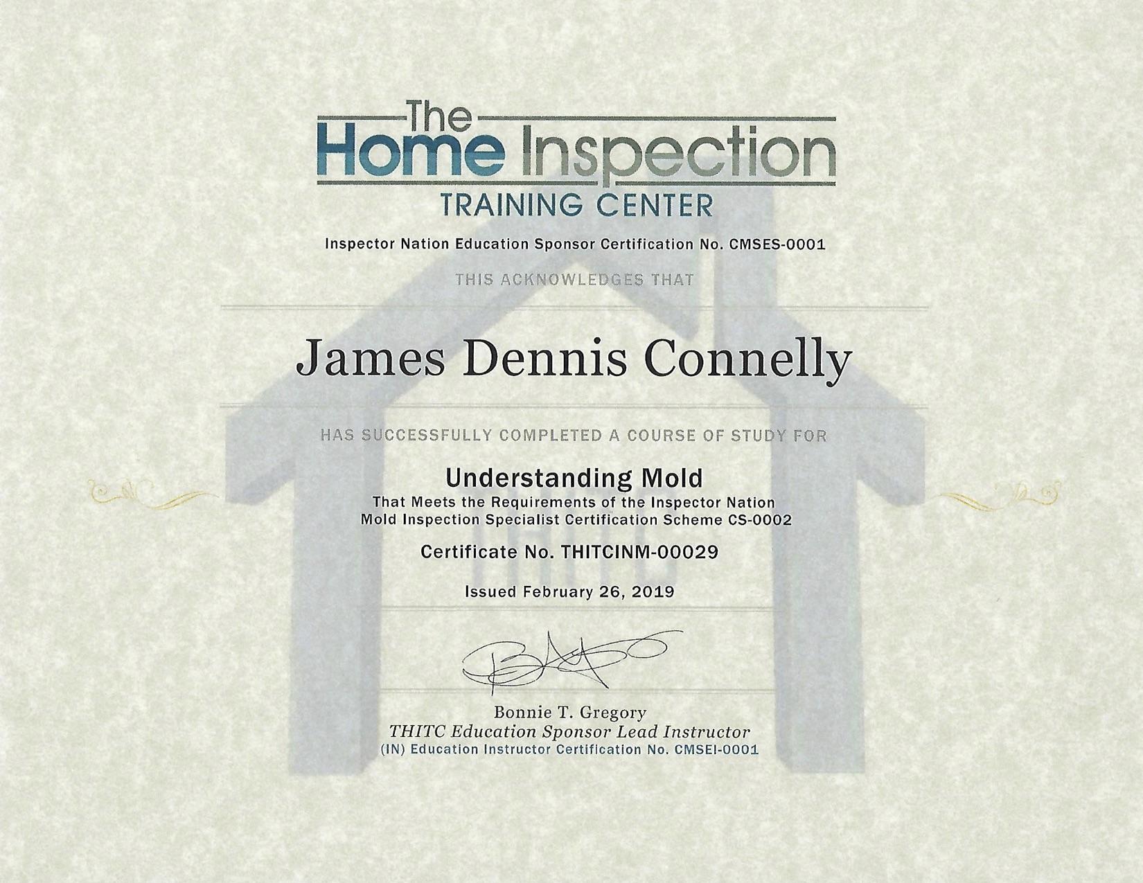 Understanding Mold Certificate